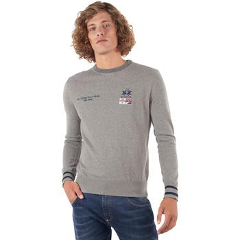 Odjeća Muškarci  Puloveri La Martina OMS315 YW025 Siva