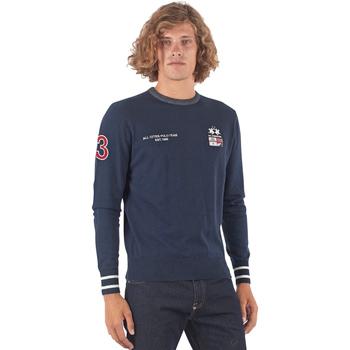 Odjeća Muškarci  Puloveri La Martina OMS315 YW025 Plava