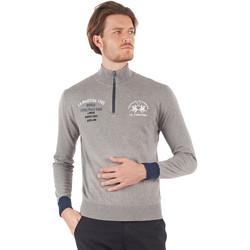 Odjeća Muškarci  Majice dugih rukava La Martina OMS317 YW025 Siva