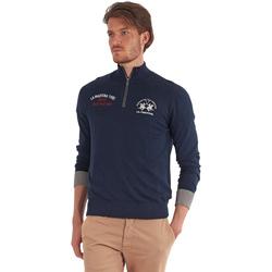 Odjeća Muškarci  Puloveri La Martina OMS317 YW025 Plava