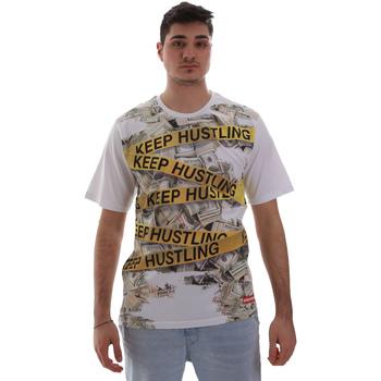 Odjeća Muškarci  Majice kratkih rukava Sprayground SP017S Bijela