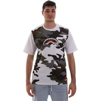 Odjeća Muškarci  Majice kratkih rukava Sprayground SP023S Bijela