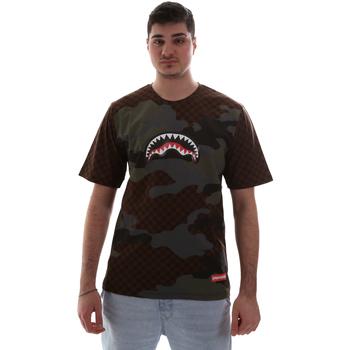 Odjeća Muškarci  Majice kratkih rukava Sprayground SP018SBRO Smeđa