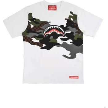 Odjeća Muškarci  Majice kratkih rukava Sprayground SP022S Bijela