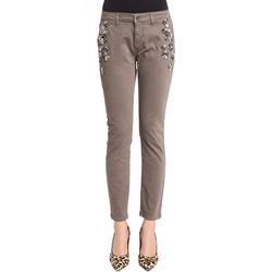 Odjeća Žene  Chino hlačei hlače mrkva kroja Denny Rose 921ND25003 Siva