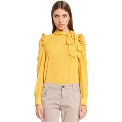 Odjeća Žene  Topovi i bluze Denny Rose 921ND45001 Žuta boja