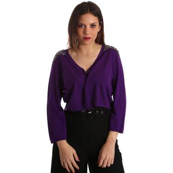 Odjeća Žene  Veste i kardigani Gaudi 921FD53018 Ljubičasta