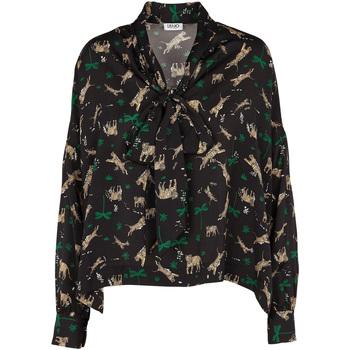 Odjeća Žene  Topovi i bluze Liu Jo W69040 T4031 Crno