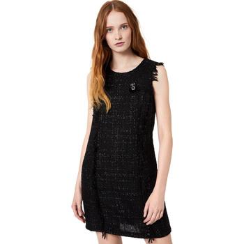 Odjeća Žene  Kratke haljine Liu Jo W69330 T4080 Crno