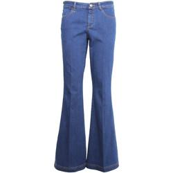 Odjeća Žene  Bootcut traperice NeroGiardini A960660D Plava