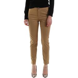 Odjeća Žene  Chino hlačei hlače mrkva kroja NeroGiardini A960700D Smeđa