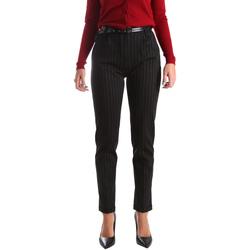 Odjeća Žene  Chino hlačei hlače mrkva kroja Fracomina FR19FP619 Crno
