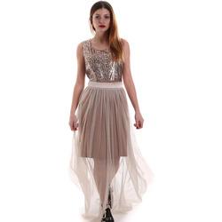 Odjeća Žene  Duge haljine Fracomina FR19FM518 Bež