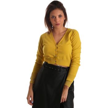 Odjeća Žene  Veste i kardigani Fracomina FR19FM823 Žuta boja