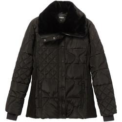 Odjeća Žene  Pernate jakne Desigual 19WWEWBP Crno