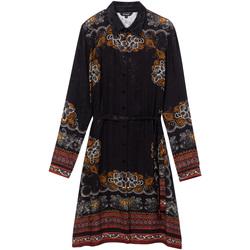 Odjeća Žene  Kratke haljine Desigual 19WWVW34 Crno