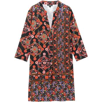 Odjeća Žene  Kratke haljine Desigual 19WWVW94 Crno