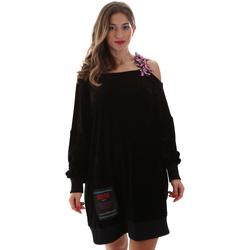 Odjeća Žene  Kratke haljine Versace B6HUB77011684899 Crno