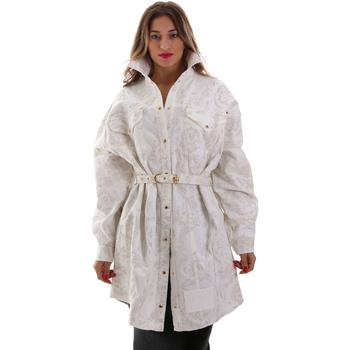 Odjeća Žene  Jakne Versace D2HUB445HRC43003 Bijela