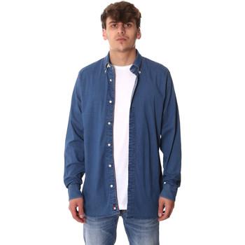Odjeća Muškarci  Košulje dugih rukava Tommy Hilfiger MW0MW12799 Plava