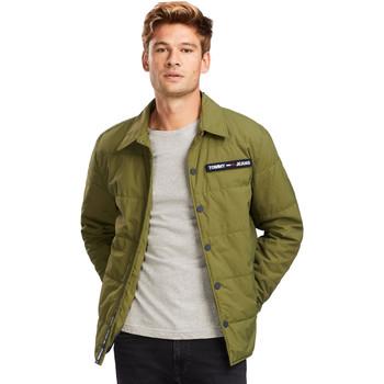 Odjeća Muškarci  Jakne Tommy Jeans DM0DM07367 Zelena