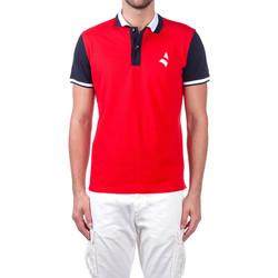 Odjeća Muškarci  Polo majice kratkih rukava Navigare NV82115 Crvena
