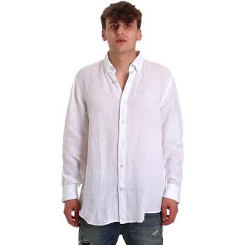 Odjeća Muškarci  Košulje dugih rukava Navigare NV91108 Bijela