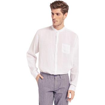 Odjeća Muškarci  Košulje dugih rukava Gaudi 011BU45001 Bijela