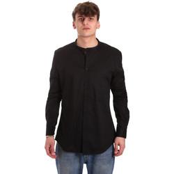 Odjeća Muškarci  Košulje dugih rukava Gaudi 011BU45013 Crno