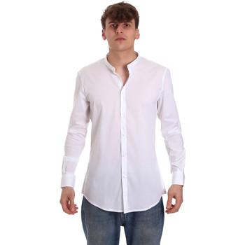 Odjeća Muškarci  Košulje dugih rukava Gaudi 011BU45013 Bijela