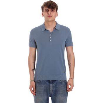 Odjeća Muškarci  Polo majice kratkih rukava Gaudi 011BU53011 Plava