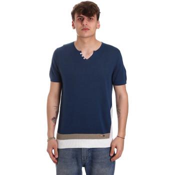 Odjeća Muškarci  Majice kratkih rukava Gaudi 011BU53021 Plava