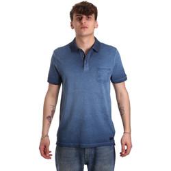Odjeća Muškarci  Polo majice kratkih rukava Gaudi 011BU64017 Plava