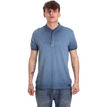 Odjeća Muškarci  Polo majice kratkih rukava Gaudi 011BU64018 Plava