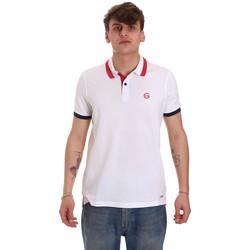 Odjeća Muškarci  Polo majice kratkih rukava Gaudi 011BU64043 Bijela