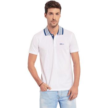 Odjeća Muškarci  Polo majice kratkih rukava Gaudi 011BU64044 Bijela