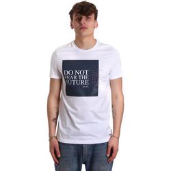 Odjeća Muškarci  Majice kratkih rukava Gaudi 011BU64067 Bijela