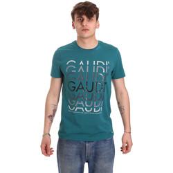 Odjeća Muškarci  Majice kratkih rukava Gaudi 011BU64068 Zelena