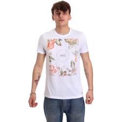 Odjeća Muškarci  Majice kratkih rukava Gaudi 011BU64070 Bijela