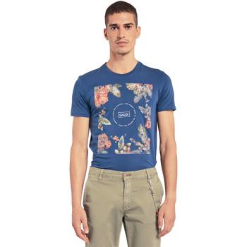 Odjeća Muškarci  Majice kratkih rukava Gaudi 011BU64070 Plava