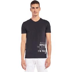 Odjeća Muškarci  Majice kratkih rukava Gaudi 011BU64071 Crno