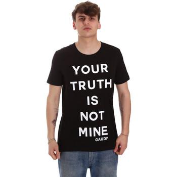 Odjeća Muškarci  Majice kratkih rukava Gaudi 011BU64107 Crno
