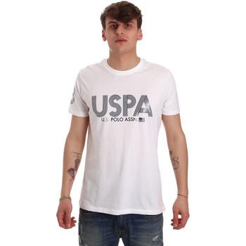 Odjeća Muškarci  Majice kratkih rukava U.S Polo Assn. 57197 49351 Bijela