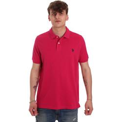 Odjeća Muškarci  Polo majice kratkih rukava U.S Polo Assn. 55957 41029 Ružičasta
