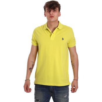 Odjeća Muškarci  Polo majice kratkih rukava U.S Polo Assn. 55957 41029 Žuta boja