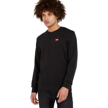 Odjeća Muškarci  Puloveri Wrangler W6589HA01 Crno