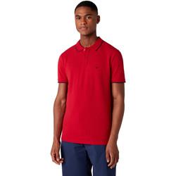 Odjeća Muškarci  Polo majice kratkih rukava Wrangler W7D5K4X47 Crvena