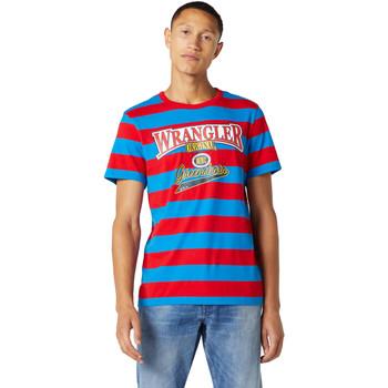 Odjeća Muškarci  Majice kratkih rukava Wrangler W7E1FKXKL Plava