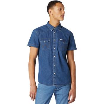 Odjeća Muškarci  Košulje kratkih rukava Wrangler W5J05D50B Plava