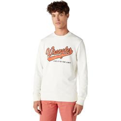 Odjeća Muškarci  Sportske majice Wrangler W6A5HA737 Bijela